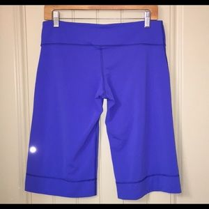Lululemon Clam Digger Power Shorts